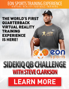 The worlds first quarterback Virtual Reality training experience is here!
